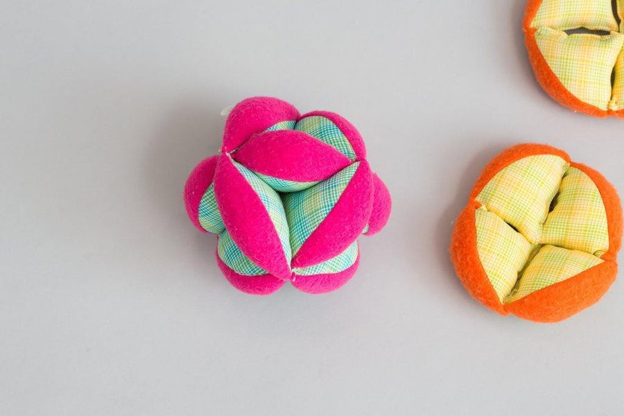 Plush Puzzle Ball - Baby Couture Co.