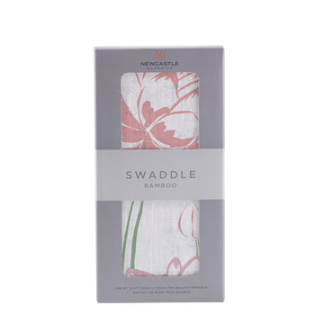 Water Lily Swaddle - Baby Couture Co.