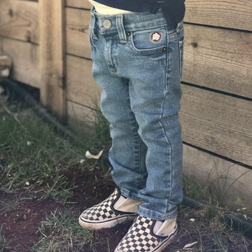 Light Stone Slim Fit Jeans - Baby Couture Co.