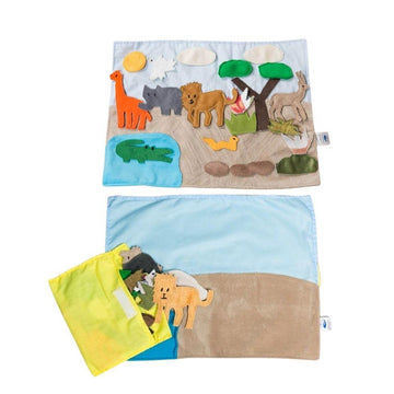 Safari Habitat Storyboard - Baby Couture Co.