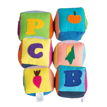 Alphabet Soft Block Set - Baby Couture Co.