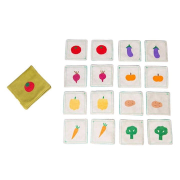 Vegetables Memory Game - Baby Couture Co.