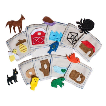 Animal Habitat Matching Game - Baby Couture Co.