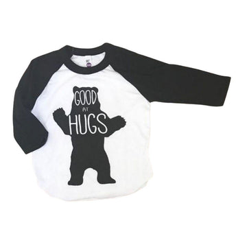 Good at Hugs Baseball Tee - Baby Couture Co.