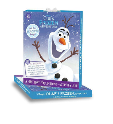 Olaf's Frozen Adventure - A HolidayTraditions Activity Kit - Baby Couture Co.