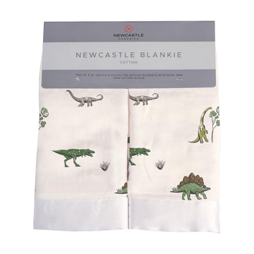 Dino Days Blankie - Set of 2 - Baby Couture Co.