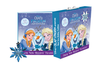 Olaf's Frozen Adventure Book + Ornament Set - Baby Couture Co.