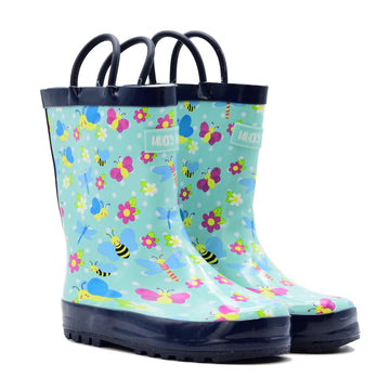 Waterproof Rain Boots - Garden of Wings - Baby Couture Co.