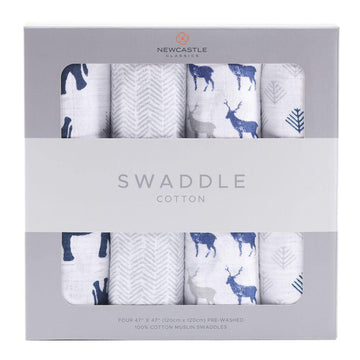 In the Wild Swaddle 4-Pack - Baby Couture Co.