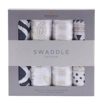 World Wanderer Swaddle 4-Pack