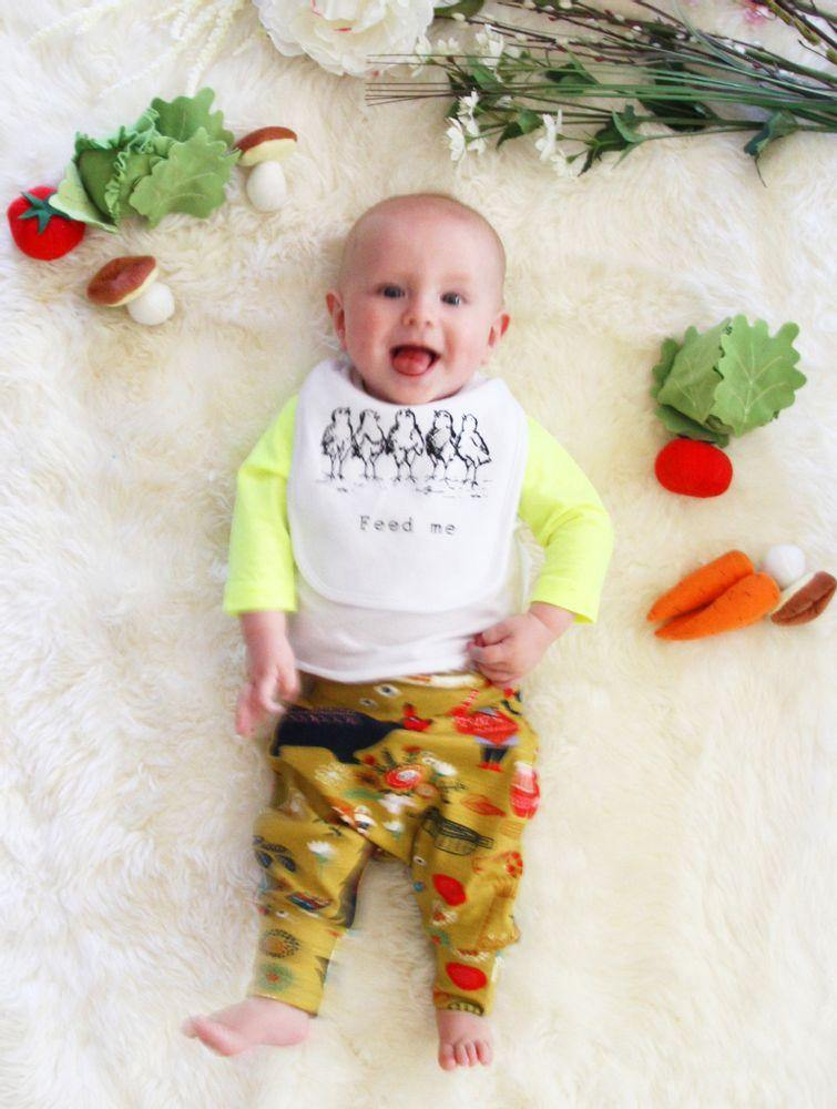 Feed Me Chicks Bib - Baby Couture Co.