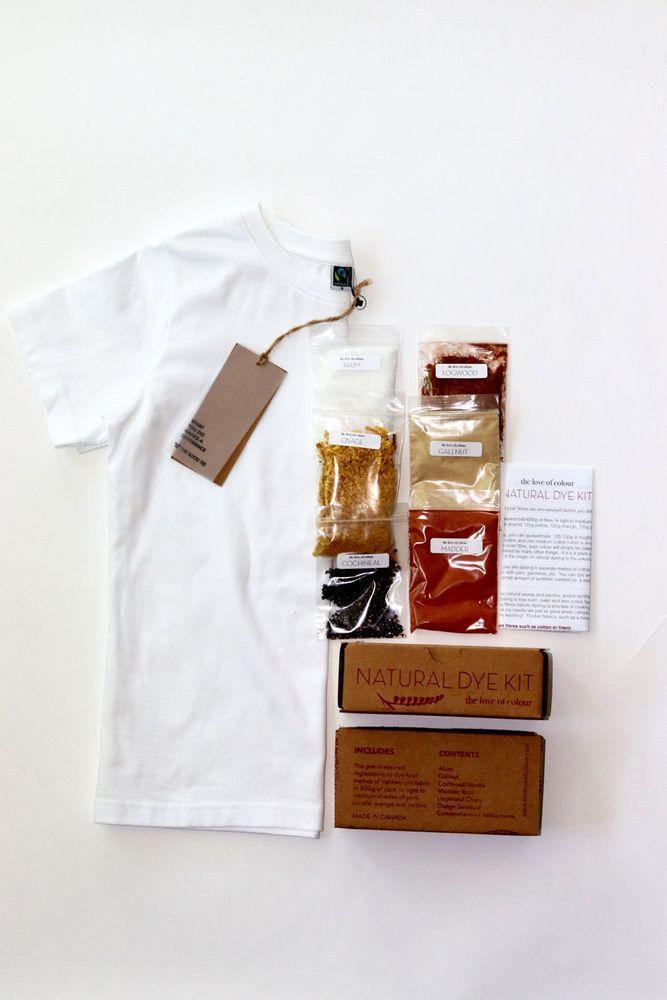 Natural Dye Kit + Good Youth Tee - Baby Couture Co.