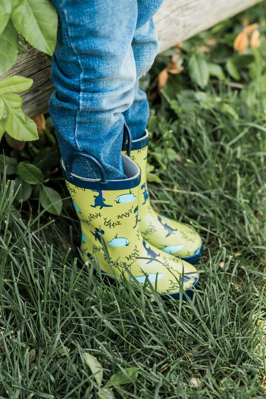 Waterproof Rain Boots - Dinosaur - Baby Couture Co.