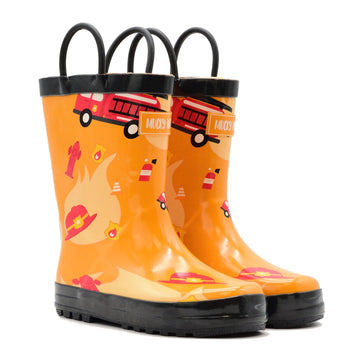 Waterproof Rain Boots - Firefighter - Baby Couture Co.