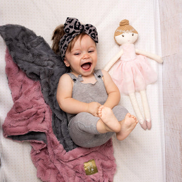 Faux Fur Blanket - Baby Couture Co.
