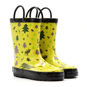 Waterproof Rain Boots - Wildlife - Baby Couture Co.