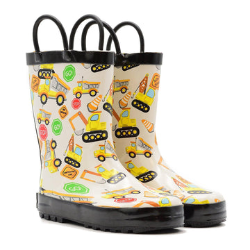 Waterproof Rain Boots - Construction - Baby Couture Co.