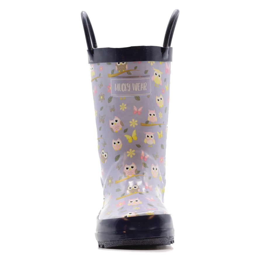 Waterproof Rain Boots - Owl - Baby Couture Co.