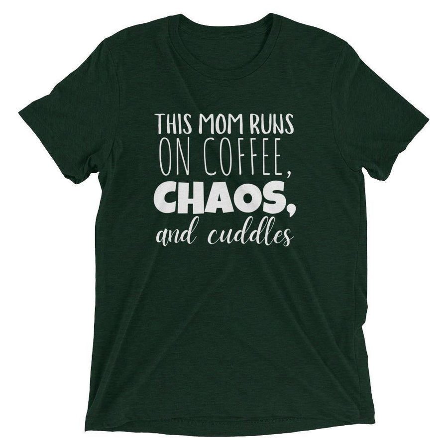 Coffee, Chaos, and Cuddles Tee - Baby Couture Co.