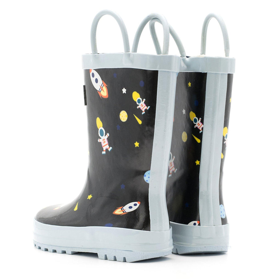 Waterproof Rain Boots - Outer Space