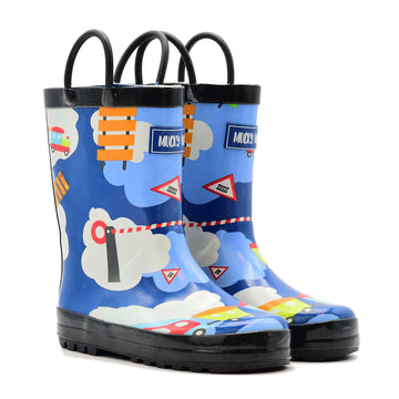 Waterproof Rain Boots - Train - Baby Couture Co.