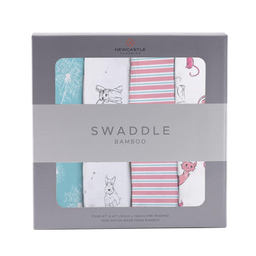 Dandelion Swaddle 4-Pack - Baby Couture Co.