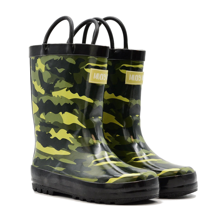 Waterproof Rain Boots - Camo - Baby Couture Co.
