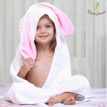 Bunny Hooded Towel - Baby Couture Co.