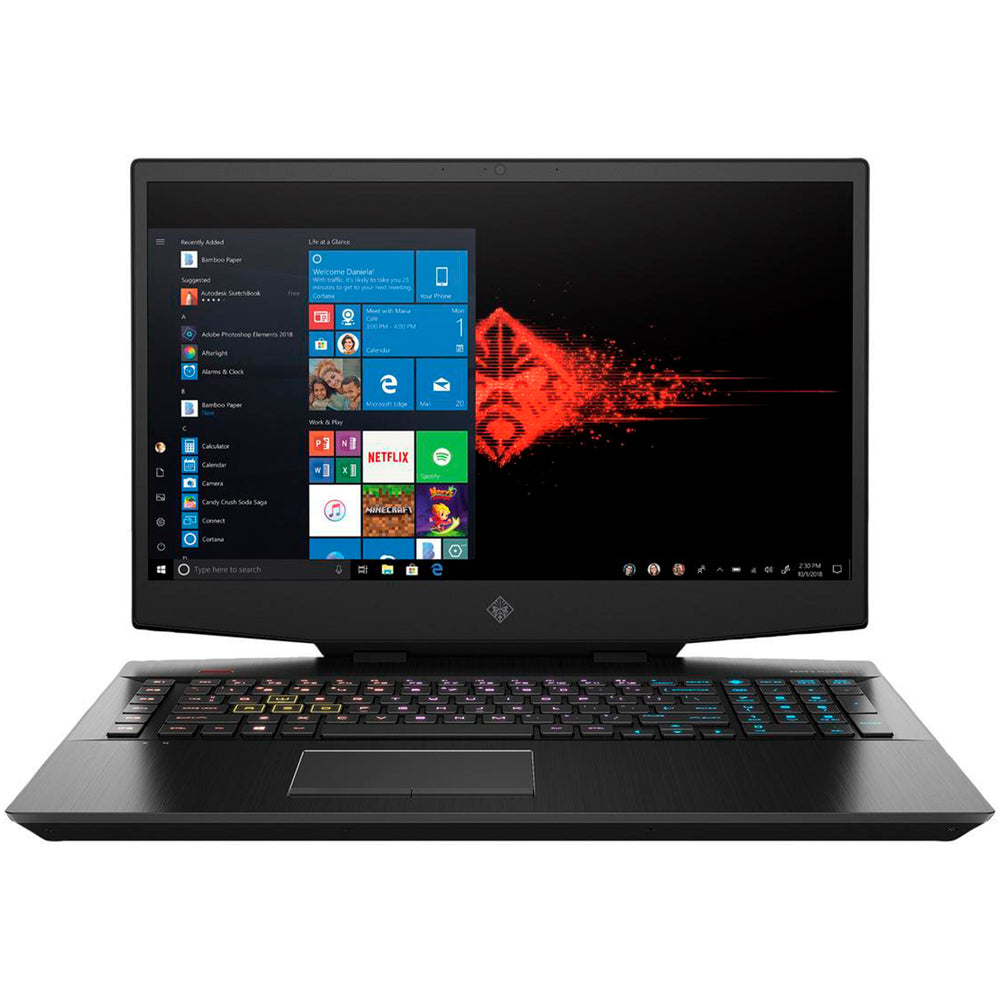 Notebook Gamer HP OMEN i7 16GB 1TB+512GB SSD GTX 1660Ti 144hz FHD 17.3""