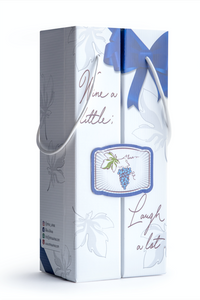 Wine a little laugh a lot (gift box)