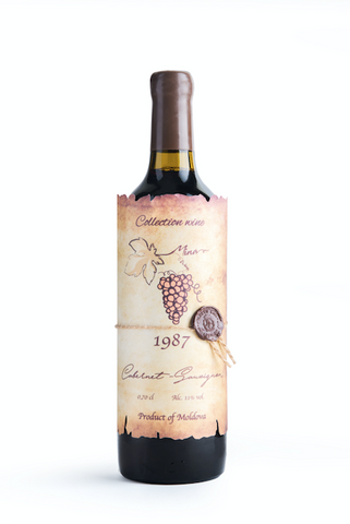 CABERNET SAUVIGNON 1987 (collection wine)