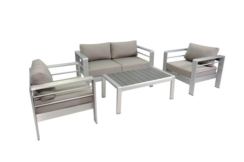 Renava Solana Outdoor Grey Sofa Set