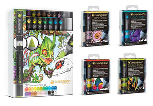 Chameleon Bundle - Original 22 Chameleon Pens & 20 Color Tops