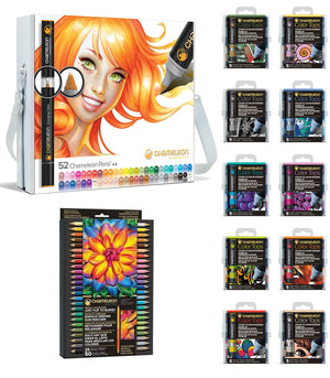 Chameleon Bundle - All 52 Chameleon Pens, 50 Color Tops & 25 Chameleon Pencils
