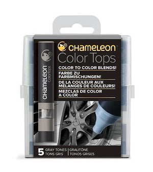 Chameleon 5 Color Tops Gray Set