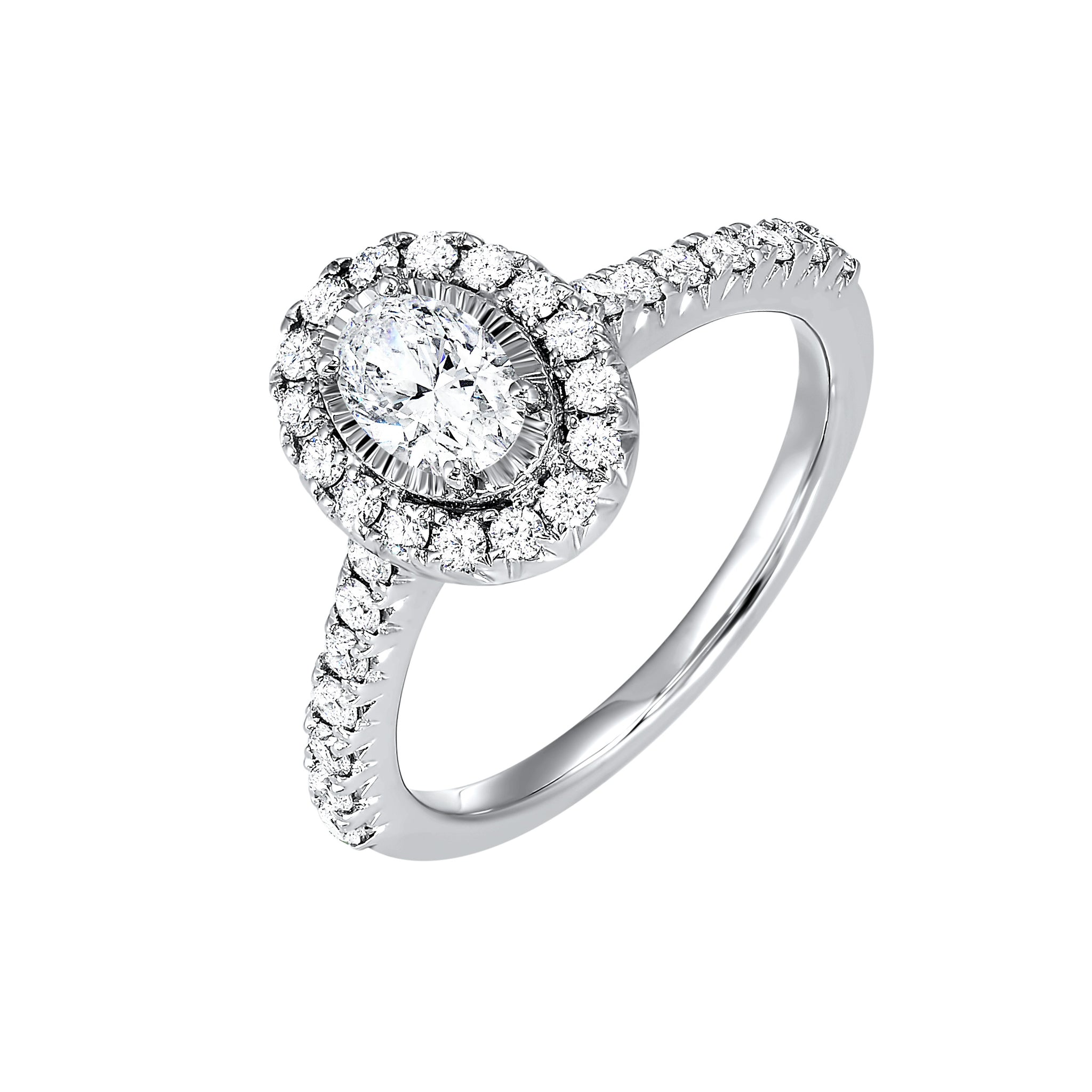 14K Diamond Engagement Ring