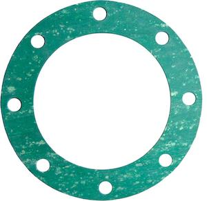 Flat Full Face Gasket for ASME B16.5 Flanges, ASME B16.21, Organic fibers with NBR binder - Projectmaterials.com