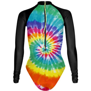 Tie Dye All Colors - Surf One Piece