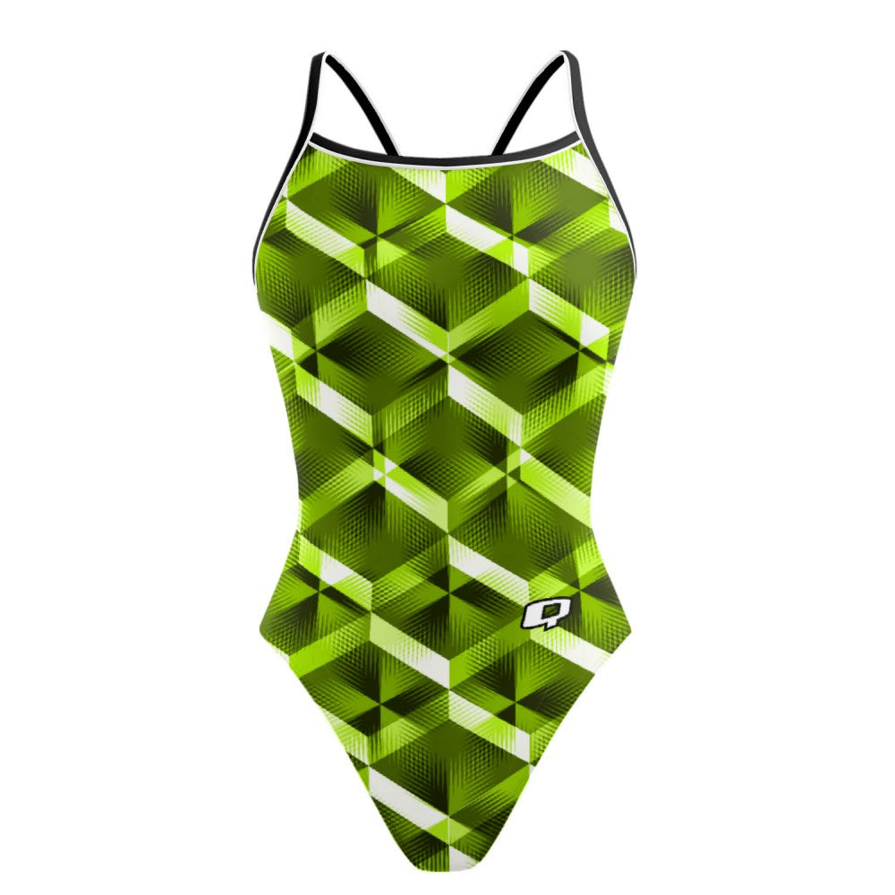 Green Diamond - Sunback Tank