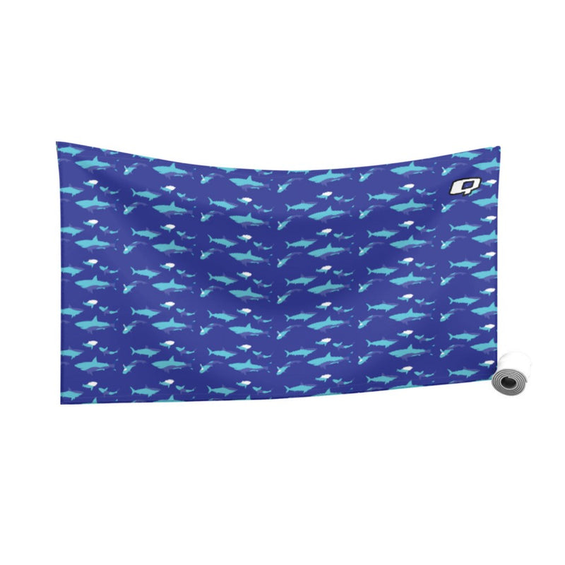 Shark Blue Quick Dry Towel