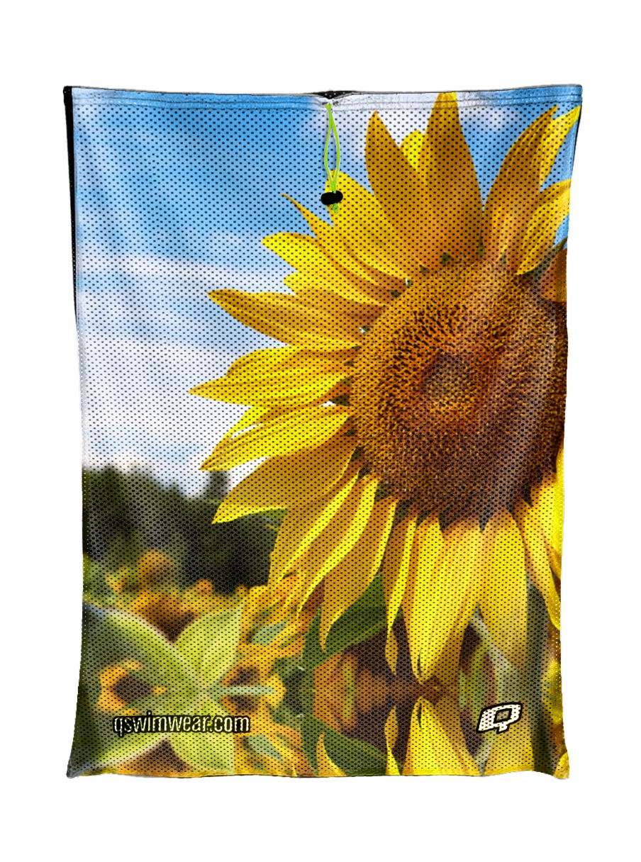Sunflower Mesh Bag