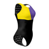 Tricolor Black, Yellow and Purple Waterpolo