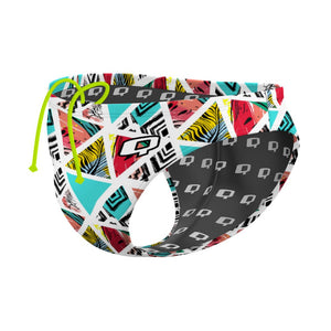 Watermelon Prism Waterpolo Brief