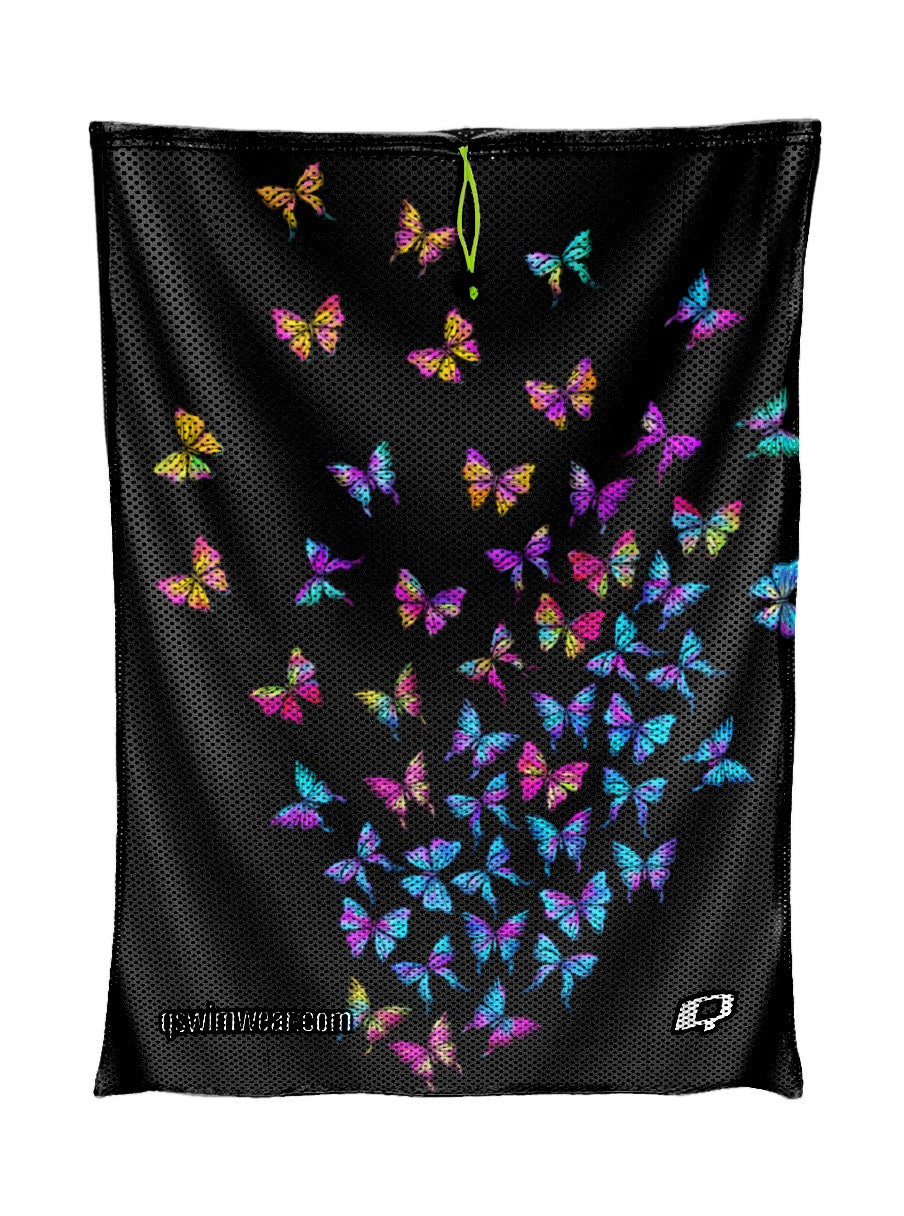 Butterfly Fly Away Mesh Bag