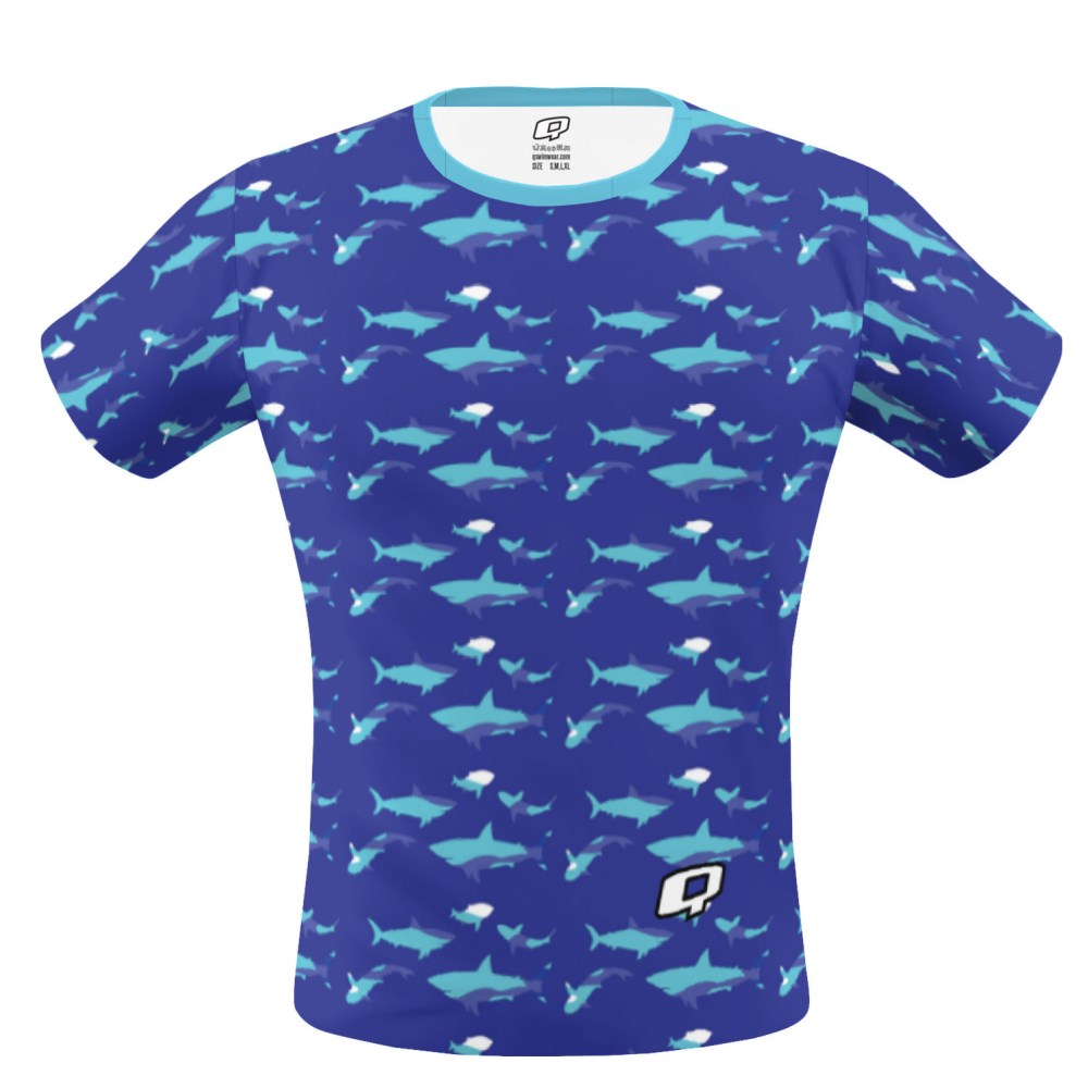 Shark Blue Performance Shirt