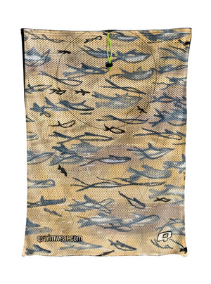 If Fishes Were Wishes Mesh Bag