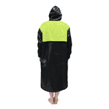 Black & Neon Solid Parka