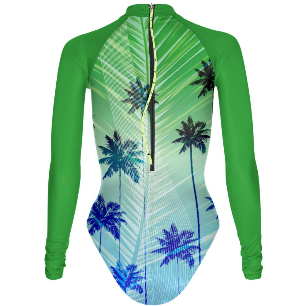 Green Paradise - Surf One Piece