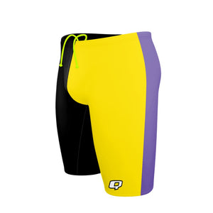 Tricolor Black, Yellow and Purple Jammer