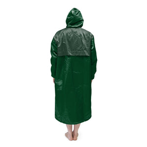 Dark Green Solid Parka
